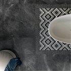 ABK PIETRA GREY 600x600 imitace mramoru s leštěným povrchem, rektifikované okraje